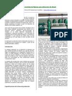 Planta de reciclaje de llantas para obtención de diesel