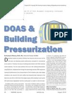 DOAS Pressurization Paper