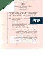 Decreto Nº 11.400 de la Presidencia sobre los Escudos del Paraguay