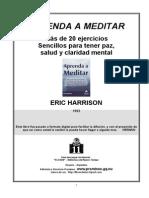 Aprenda a Meditar-Eric Harrison
