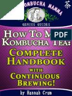How to Make Kombucha Tea_ Complete Handbook