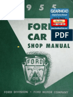 1960 t Bird Shop Manual | Distributor | Carburetor