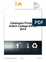 20131911 Catalogue Produits KUKA College KRC2