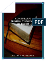 Comentario de Primera y Segunda de Pedro Por Willie Alvarenga