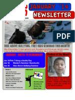 SMA Jan '14 Newsletter