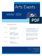 Winter Arts Events