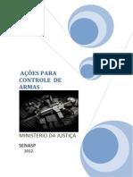 AÇÔES PARA CONTROLE  DE ARMAS