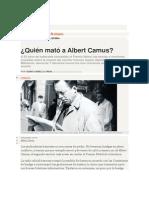 Quién mató a Albert Camus-Revista Ñ-Clarín 1-8-12