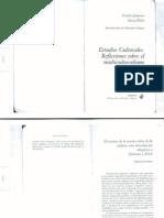 Gruner Eduardo - El retorno de la teoría crítica de la cultura
