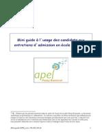 Mini Guide APEL Entretiens Motiv2
