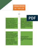 Principios de Taylor