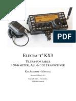E740164 KX3 Kit Assembly Manual Rev G2 WEB