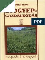 Barcsák Zoltán - Biogyepgazdálkodás