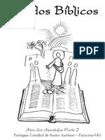 Estudos Biblicos - Outubro - Santo Antônio