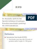 Management of Antepartum Fetal Death