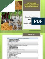 Edisi II_2014_Nama & Alamat Lembaga Perusahaan Benih Indonesia_hariprasetyo_Edisi 2 Tahun 2014