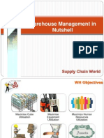 Warehouse Management-Final Project Report | Warehouse | Inventory