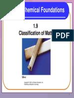 1 9 Classification of Matter