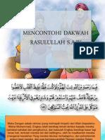 Mencontohi Dakwah Rasulullah saw