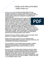 Međunarodna hajka na Marka Perkovića