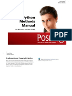 PoserPython Methods Manual