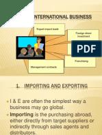 Types of IB 1