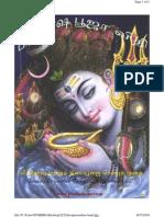 Pradosha Pooja Vidhi (Tamil Version) 160 Pages