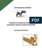 Diseño Instruccional - Informe de gestión