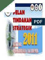 1 Pelan Tindakan Strategik Akademik 2011 6 Jan 2011
