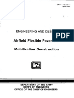 EM 1110-3-141 - Airfield Flexible Pavement - Mobilization Construction-Web
