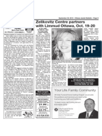 Zelikovitz Centre partnerswith Limmud Ottawa, Oct. 19-20