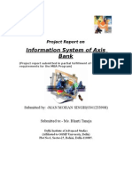 Information System Management OF AXIS BANK