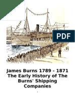 Burns Shipping Companies Early History