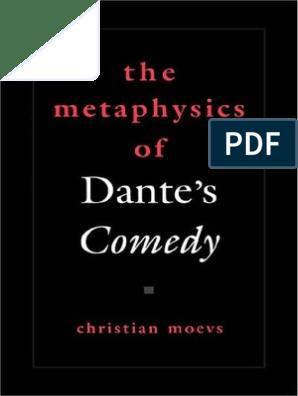 Dante Comedi Truth Metaphysics