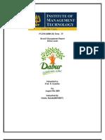 Dabur Amla -Brand Management Report