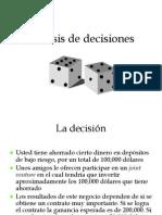 Analisis de Decisiones Revisado
