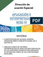 aplicacion wisc 4