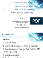 VoIP Call Processing in the MPLS Network
