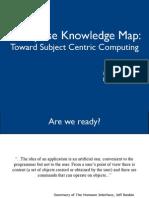 Enterprise Knowledge Map