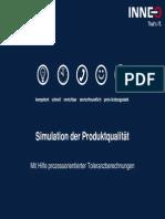 Simulation Der Produktqualitaet