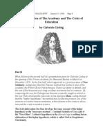 Leibniz's Idea of the Academy 2