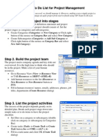 Pm Startup Guide