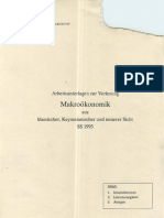 Makroökonomik Arbeitsunterlagen - Prof. Dr. H.-J. Jarchow