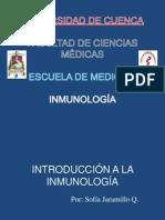 Introducción y Semiología del Sistema Inmune