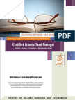 Certified Islamic Fund Manager
