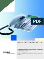 Telephone IP_OptiPoint 400