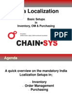 Oracle India Localization