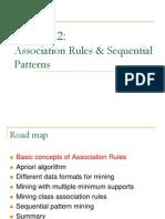 CS583 Association Sequential Patterns