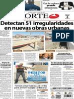 Periódico Norte edición impresa día 4 de enero 2014