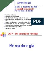 aula de apresentaçao - Mercadologia